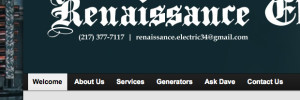 Renaissance Electric Website