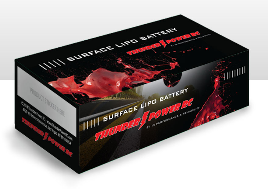 Thunder Power RC Surface Box Front